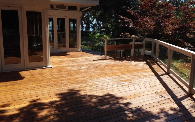Side Deck View