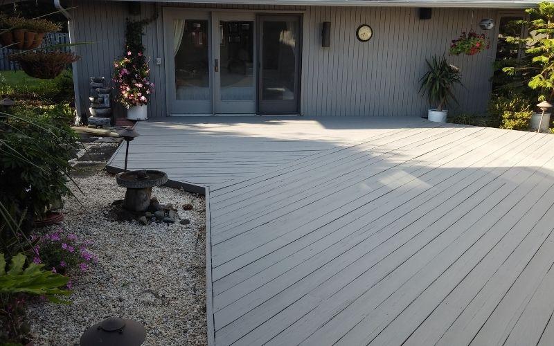 White Deck View